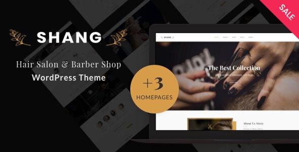 Shang - Hair Salon & Barber Shop WordPress theme - WooCommerce eCommerce