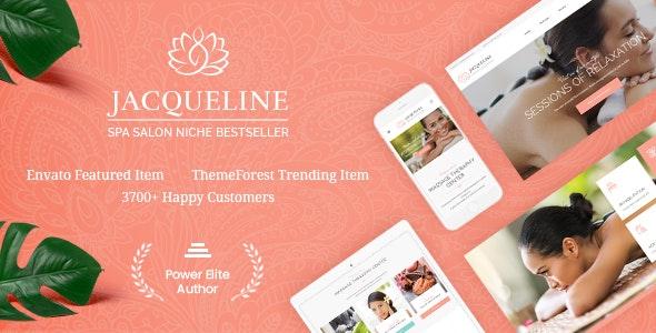 Jacqueline | Spa & Massage Salon Beauty WordPress Theme + Elementor - Health & Beauty Retail
