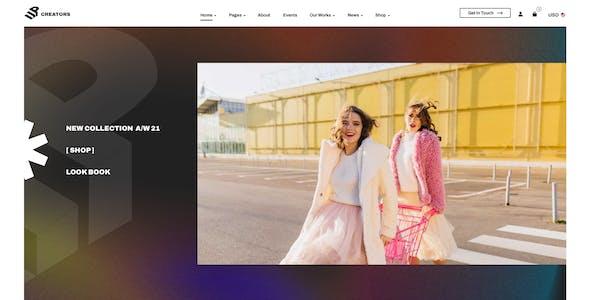 UpCreators – Creative Agency Template for Figma