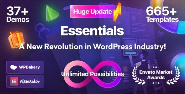 Essentials v2.0.7 – Multipurpose WordPress Theme