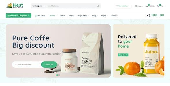 Nest - Multipurpose eCommerce HTML Template