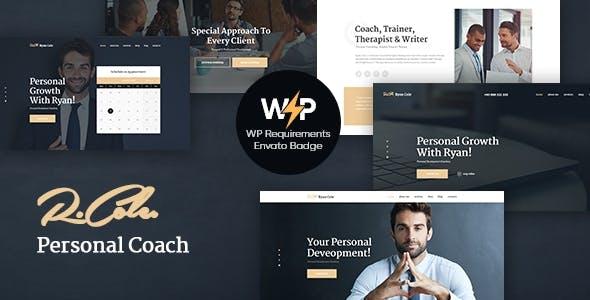 R.Cole | Life & Business Coaching WordPress Theme