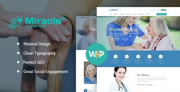 Saveo | In-home Care & Private Nursing Agency WordPress Theme - Health & Beauty Retail