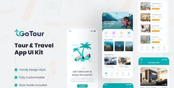 GoTour - Tour & Travel App Figma UI Kit