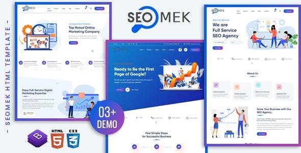 SEOMEK - SEO & Marketing HTML5 Template - Marketing Corporate