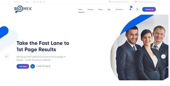 SEOMEK - SEO & Marketing HTML5 Template