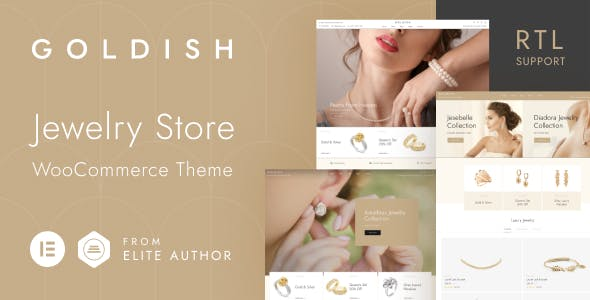 Goldish - Jewelry Store WooCommerce Theme