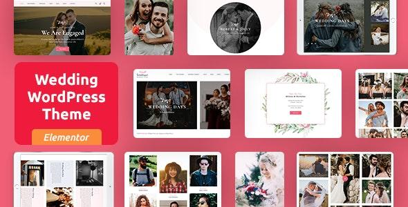 Woddingat - Wedding WordPress Theme - Wedding WordPress