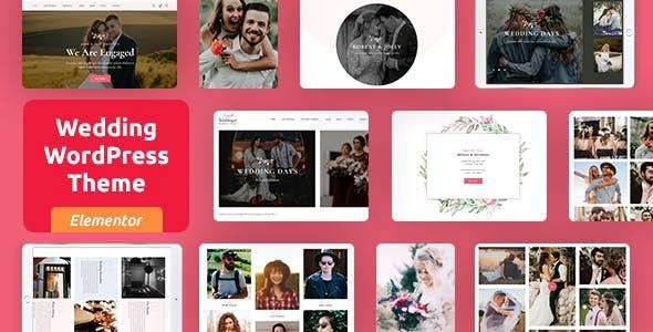 Woddingat - Wedding WordPress Theme