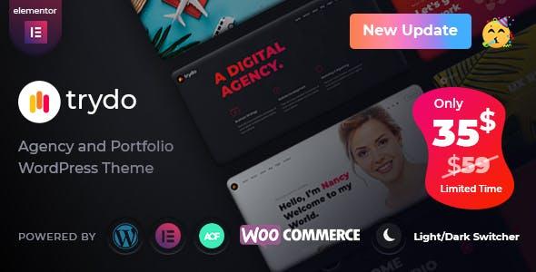 Trydo - Creative Agency & Portfolio WordPress Theme