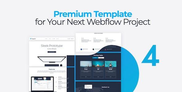 Protogonist 4 for Webflow