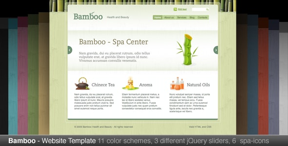 Bamboo - Creative Site Templates