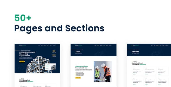 Axial – Construction Company Elementor Template Kit