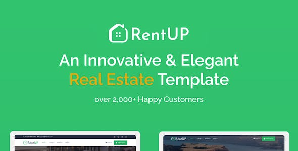 RentUp - Real Estate HTML Template