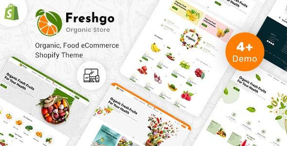 FreshGo - Organic & Supermarket Shopify Food Store - Shopping Shopify