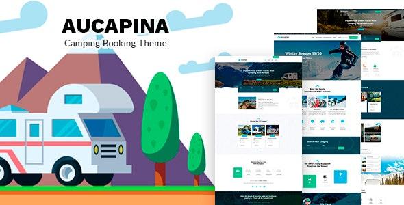 Aucapina - Motorhome & RV Rentals Theme - Travel Retail