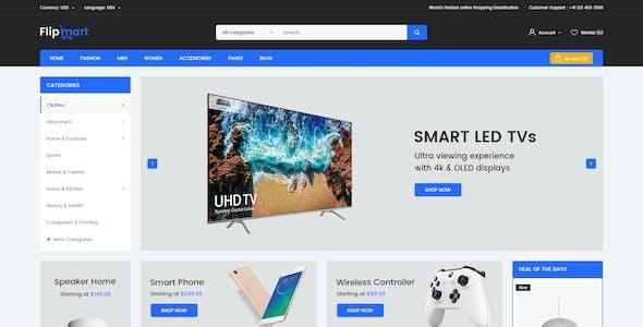 Flipmart - Multipurpose PSD Template