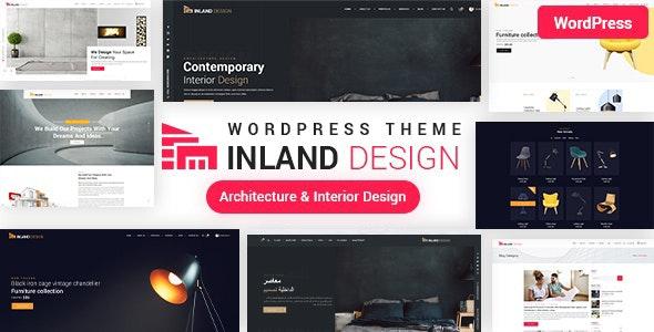 Interior Design WordPress Theme - Business Corporate
