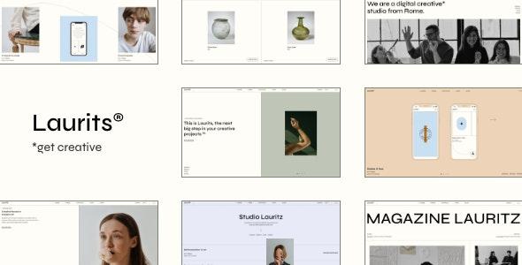 Laurits - Portfolio and Agency Theme - Portfolio Creative