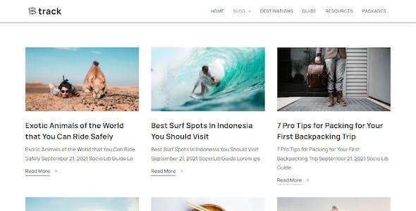Track - Travel Guide Blog Elementor Kit