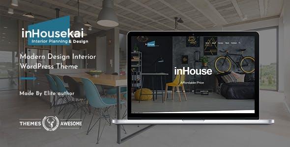 Inhousekai   Modern Design Interior WordPress Theme
