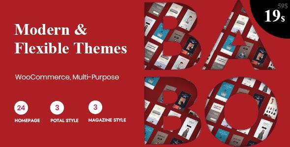 Babo - Modern & Flexible WooCommerce Theme - WooCommerce eCommerce