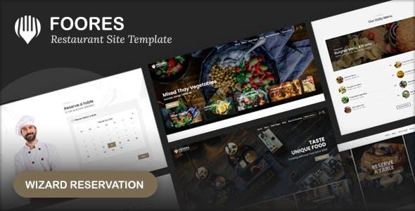 Foores - Restaurant Site Template