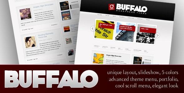 Buffalo - Unique WordPress Theme (5 in 1) - Blog / Magazine WordPress