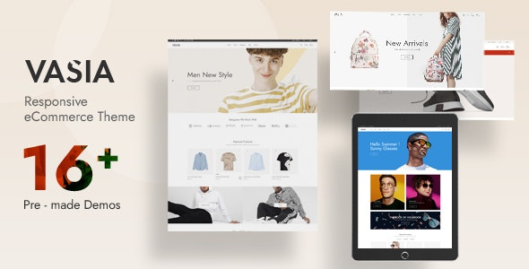 Vasia - Multipurpose OpenCart Theme (Included Color Swatches) - Fashion OpenCart