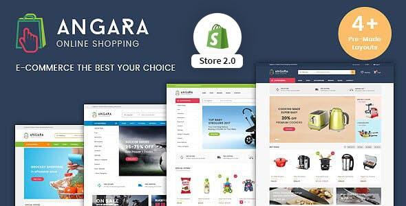Multipurpose Shopify Theme - Angara