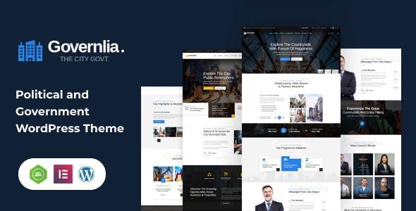 Governlia  - Municipal and Government WordPress Theme