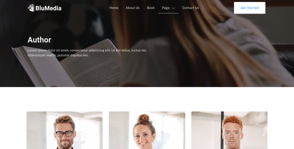 BluMedia – Book Publisher & Book Author Elementor Template Kit