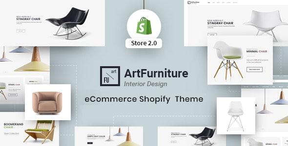 Furniture Shopify Theme - ArtFurniture - Shopping Shopify