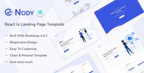 Nody - React Js Landing Page Template