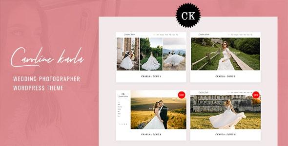 Ckarla v1.0 – Wedding Photography WordPress Theme