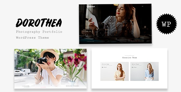 Dorothea - Photography Portfolio WordPress Theme - Photography Creative