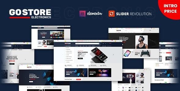 GoStore v1.0.5 – Elementor WooCommerce WordPress Theme
