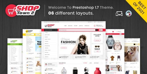 Shop Town 2 - Multipurpose Prestashop Theme - Shopping PrestaShop
