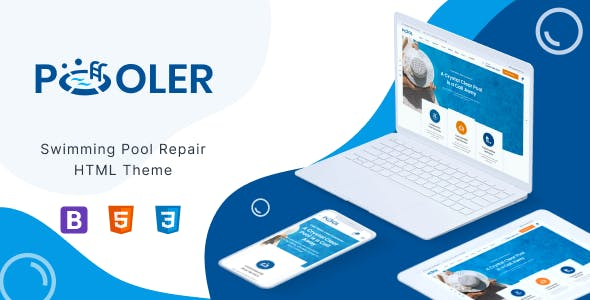 Pooler - Pool Services HTML Template