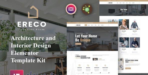 Ereco - Architecture & Interior Design Elementor Template Kit