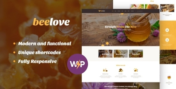 Beelove | Honey Production and Sweets Online Store WordPress Theme - Food Retail