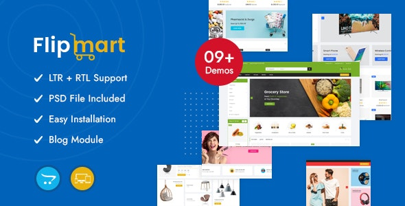 Flipmart - Supermarket OpenCart Theme - Shopping OpenCart