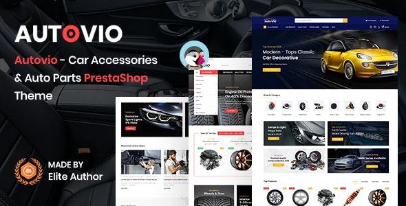 Autovio - Car Accessories PrestaShop Theme - PrestaShop eCommerce