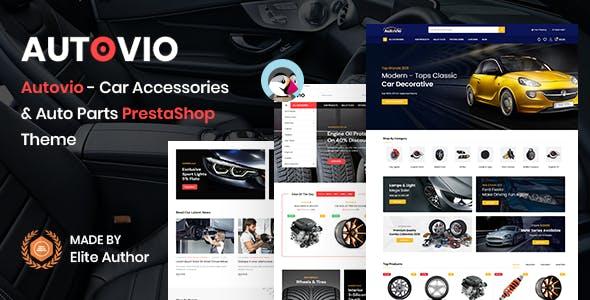 Autovio - Car Accessories PrestaShop Theme