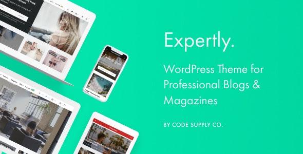 Expertly v1.8.0 – WordPress Blog & Magazine Theme for Professionals