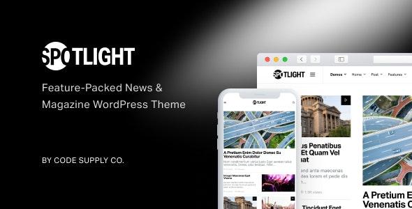 Spotlight v1.6.9 – Feature-Packed News & Magazine Theme
