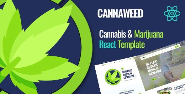 Cannaweed   Cannabis React Template