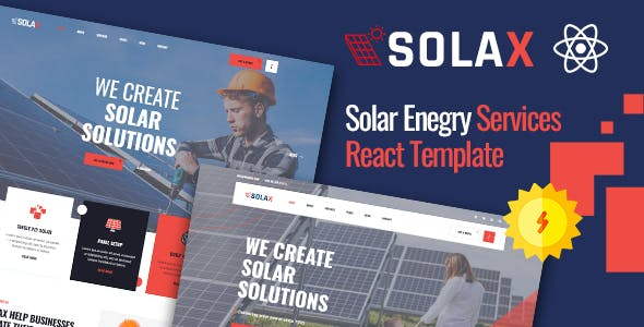 Solax | Green Energy React Template