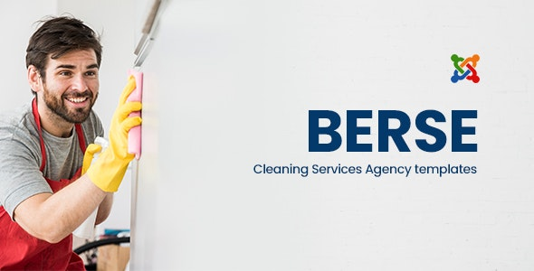 Berse v1.0 – Cleaning Services Joomla Templates
