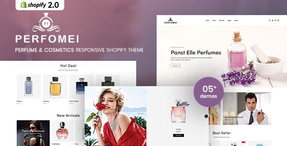 Perfomei - Perfume And Cosmetics Shopify Theme